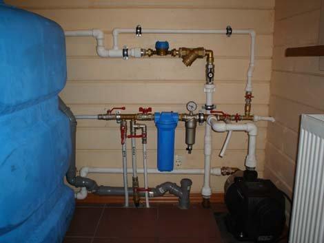 Как правильно сделать ввод воды в частный дом